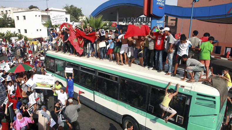Video eines kollektiven sexuellen Missbrauchs von junger Frau in öffentlichem Bus schockt Marokko