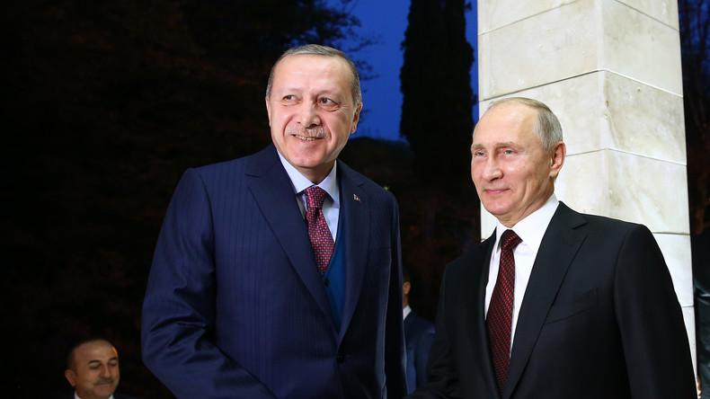 Wladimir Putin: Beziehungen zwischen Russland und der Türkei fast vollkommen wiederhergestellt