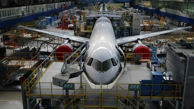 Der Nahe Osten schaut nach Russland für gemeinsame Entwicklung eines neuen Passagierflugzeugs