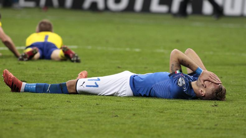 Erstmals seit 60 Jahren: Italien scheidet aus Fußball-WM-Qualifikation aus