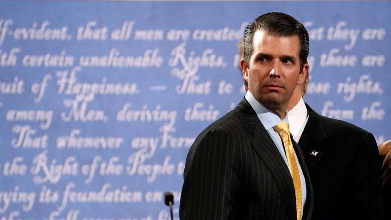 Trumps Sohn gibt Briefwechsel mit Wikileaks während Präsidentschaftskampagne seines Vaters preis