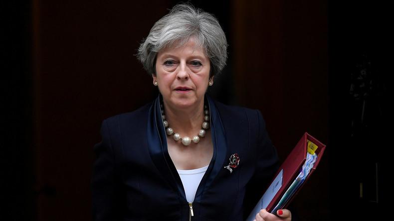 """Theresa May will vom eigenen Versagen ablenken und nennt Russland """"Hauptbedrohung"""" westlicher Werte"""