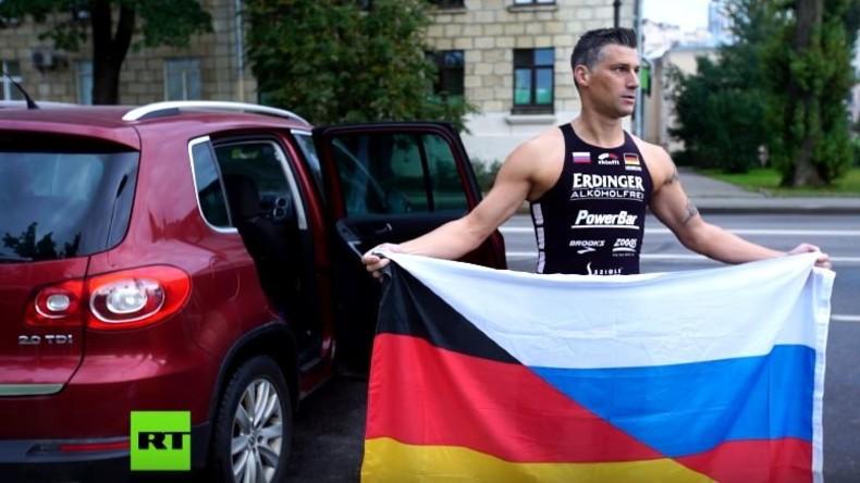 Deutscher Extremsportler verfasst Aufruf gegen NATO-Bedrohung an russischer Grenze