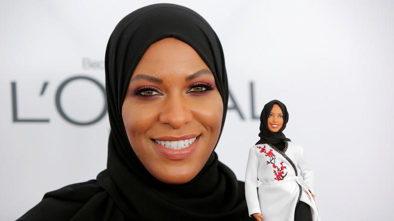 Von muslimischer Säbelfechterin inspiriert: Erste Barbie mit Hidschab kommt auf den Markt