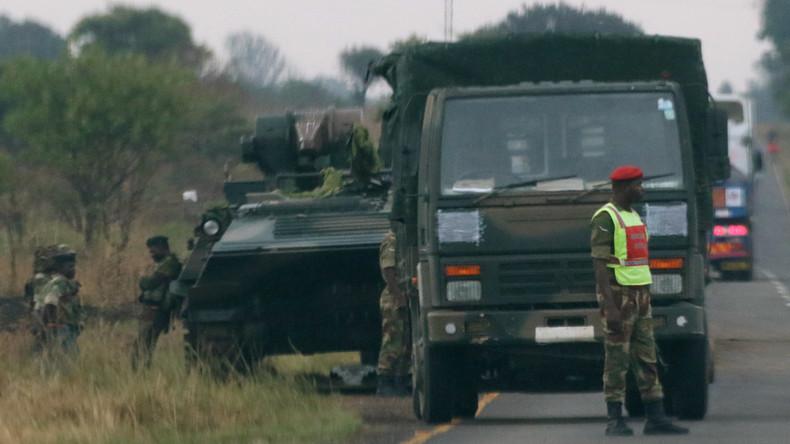Kampf um Nachfolge von Mugabe eskaliert: Militär übernimmt in Simbabwe die Kontrolle