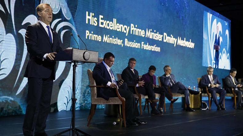 Medwedew: Westen nutzt Sanktionen als Instrument des unlauteren Wettbewerbs