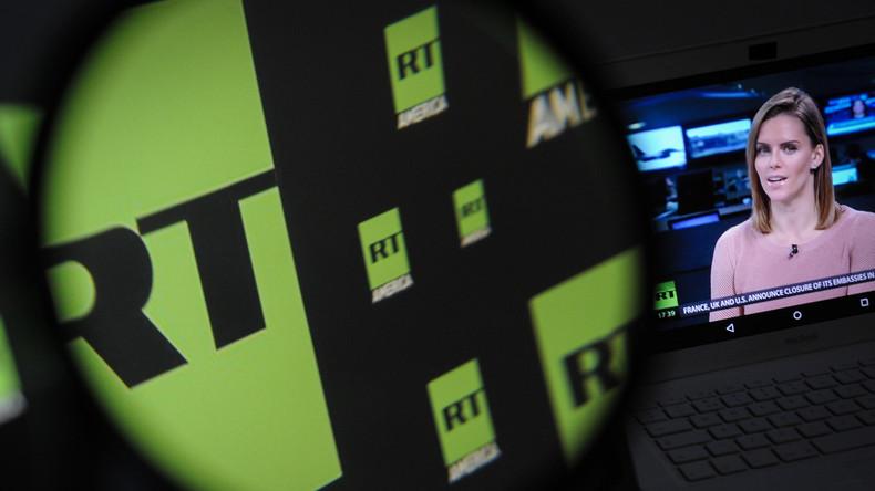 RT America: Stillschweigende Zustimmung im Westen zum Angriff auf Pressefreiheit [Video]
