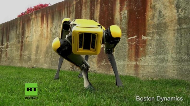 Kann er dich sehen? Neuer Robo-Dog von Boston Dynamics gruselt Internetnutzer