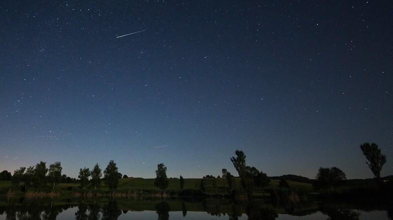 Feuerball am Himmel über Deutschland erweist sich als Sternschnuppe