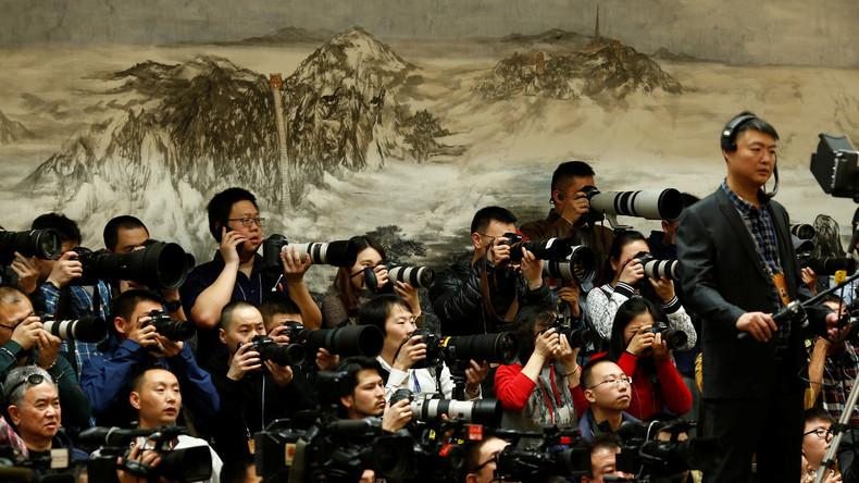 """""""Land of the free"""" - Auch chinesische Journalisten sollen sich in den USA als Agenten registrieren"""