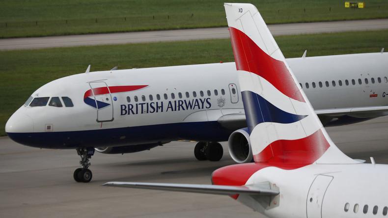 Ex-Flugbegleiterin verklagt British Airways auf 750.000 Pfund wegen erworbener Flugangst