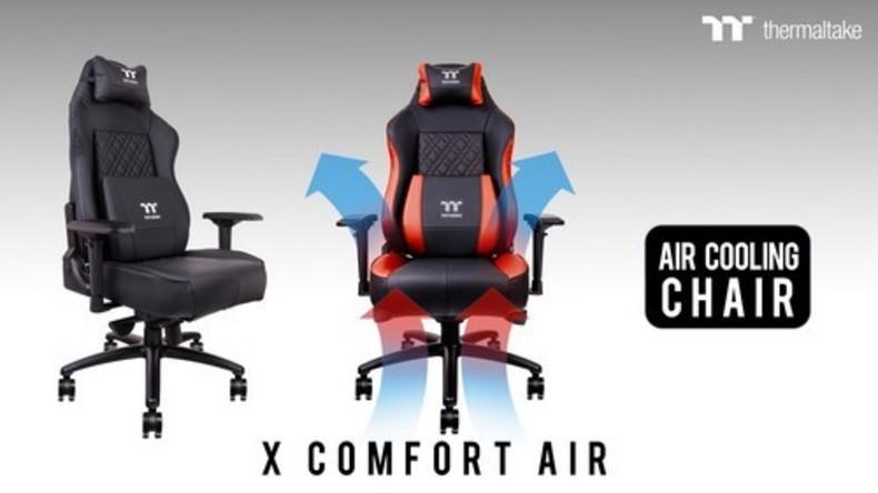 Bleib kühl in Hitze des Gefechtes: Neuer Sessel für Gamer hat Ventilatoren für Hinterteil