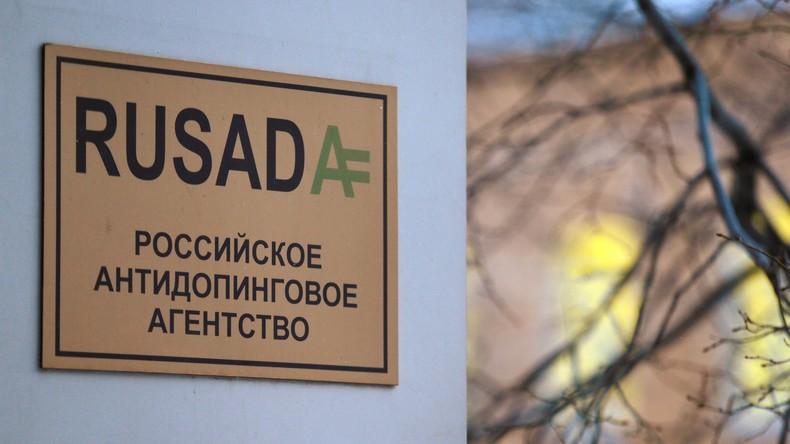 WADA lässt Suspendierung russischer Anti-Doping-Agentur RUSADA bestehen