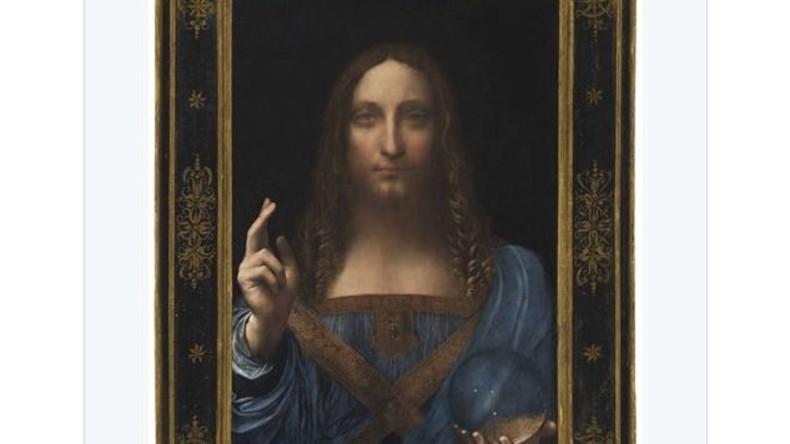 Rekordsumme: Da Vinci-Gemälde in New York für 450 Millionen Dollar versteigert