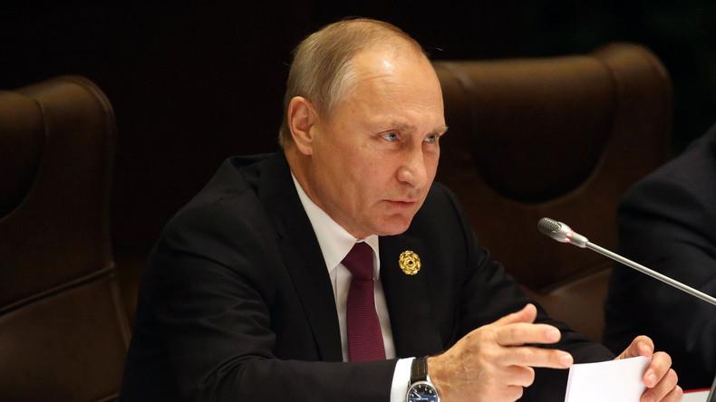 LIVE: Putin bei der Eröffnung der WHO-Konferenz