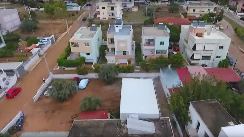 """Große Schäden nach Sturm """"Medicane"""" in Griechenland - und noch keine Entwarnung"""