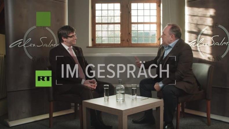 Exklusiv-Interview mit Carles Puigdemont: Zukunft Kataloniens, Rajoy und Madrider Repression
