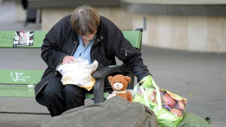 Deutschland - ein Land in dem bald gut und gerne 1,2 Millionen Menschen ohne Wohnung leben