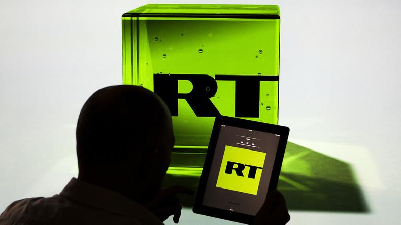 """US-Schlag gegen die Meinungsfreiheit: RT wurde zum """"ausländischen Agenten"""" erklärt"""