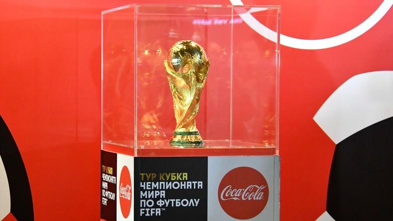 Tickets für Fußball-WM-2018 im freien Verkauf