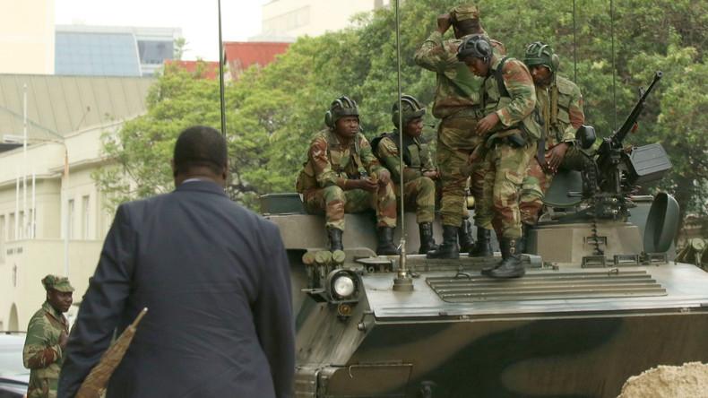 Nach Putsch in Simbabwe: Militär meldet Festnahmen
