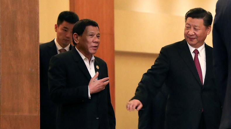 Peking hilft Duterte beim Wiederaufbau: China und Philippinen unterzeichnen 14 Kooperationsabkommen