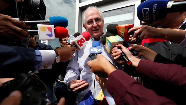 Ex-Bürgermeister von Caracas flieht aus Hausarrest nach Kolumbien