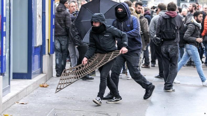 Paris: Eskalierende Proteste gegen Arbeitsmarktreform