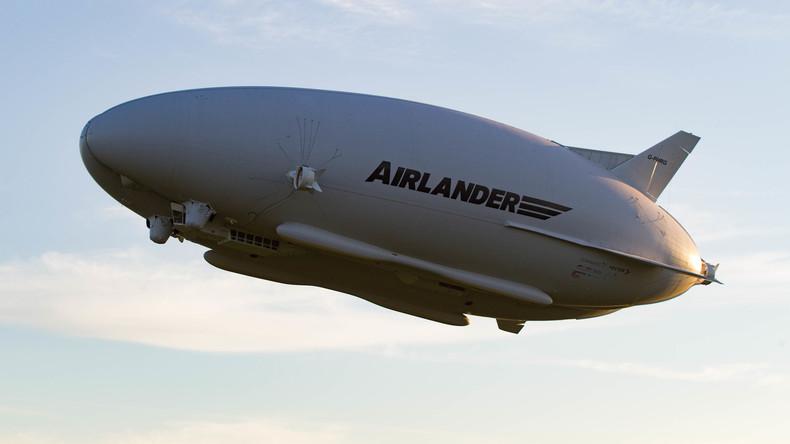 Harte Landung von Airlander: Zeppelin verliert Gas und stürzt ab