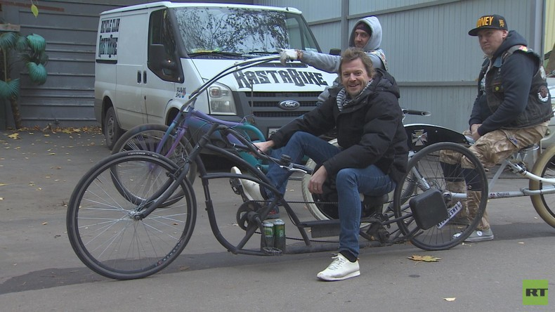 Einmal in Russland: Fahrradfahren in Moskau