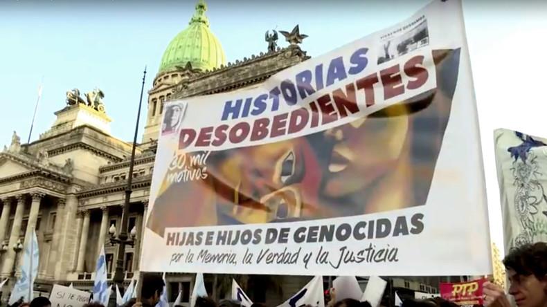 Argentinien: Söhne und Töchter von Tätern aus der Diktatur wollen vor Gericht ziehen