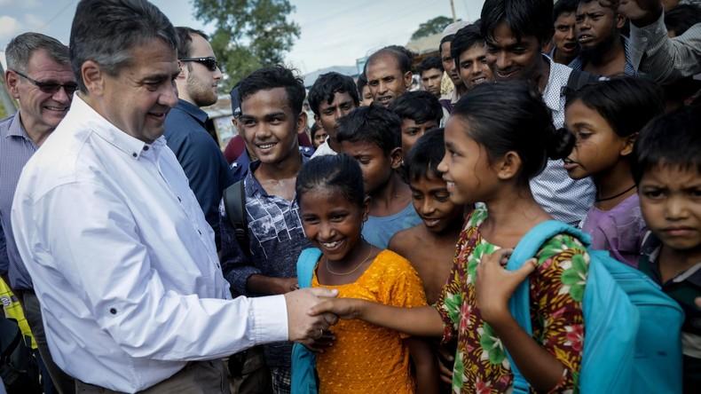 Bundesaußenminister Gabriel sagt 20 Millionen Euro für Rohingya-Flüchtlinge zu