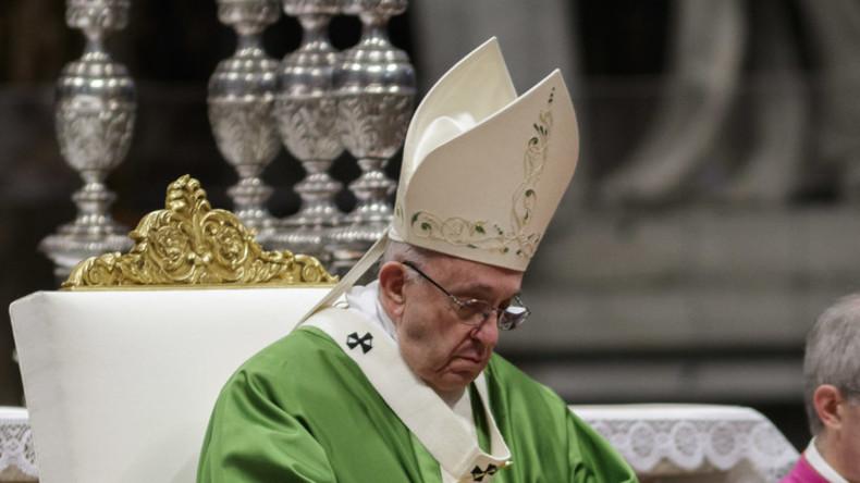 """Papst Franziskus nennt modernen """"Reisepass für das Paradies"""""""
