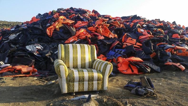 Streiks auf griechischer Insel Lesbos wegen schlimmer Lage in Flüchtlingslagern