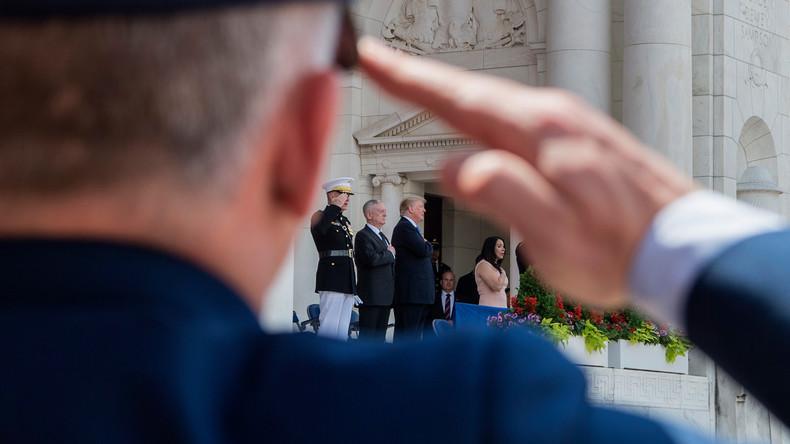 USA: Bahnt sich ein Militärputsch gegen Präsident Trump an?