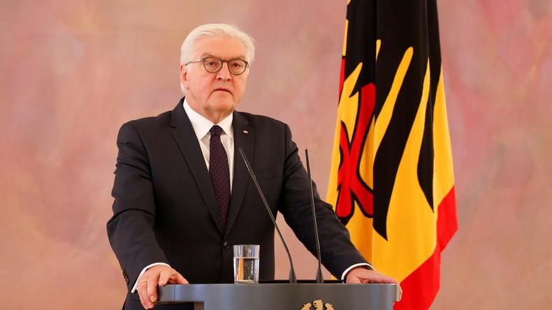 LIVE: Erklärung von Bundespräsident Steinmeier nach Treffen mit Kanzlerin Merkel