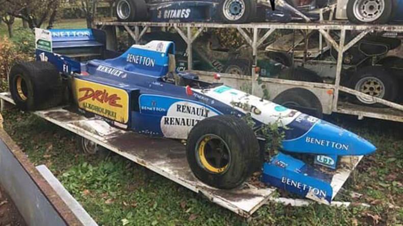 Formel-1-Erbe oder Kopie-Sammlung? – Rennwagen-Friedhof in Frankreich entdeckt
