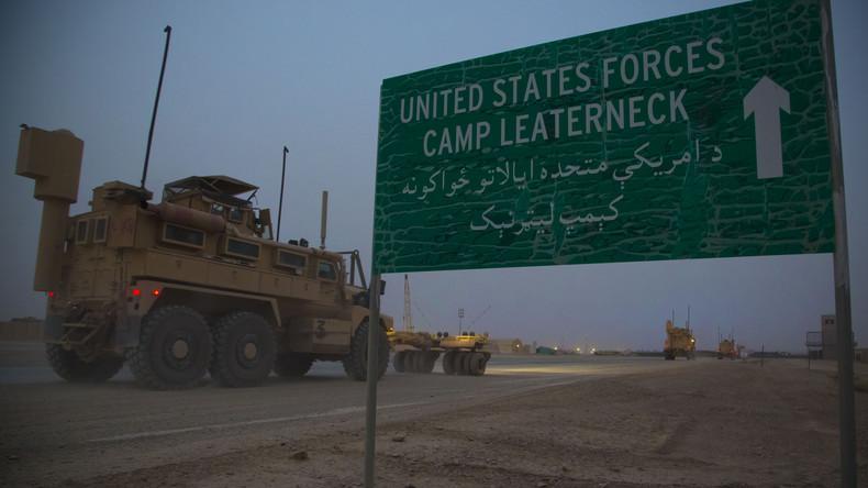 USA weiten Krieg gegen Taliban in Afghanistan aus: Erstmals Bomben auf Drogenfabriken abgeworfen