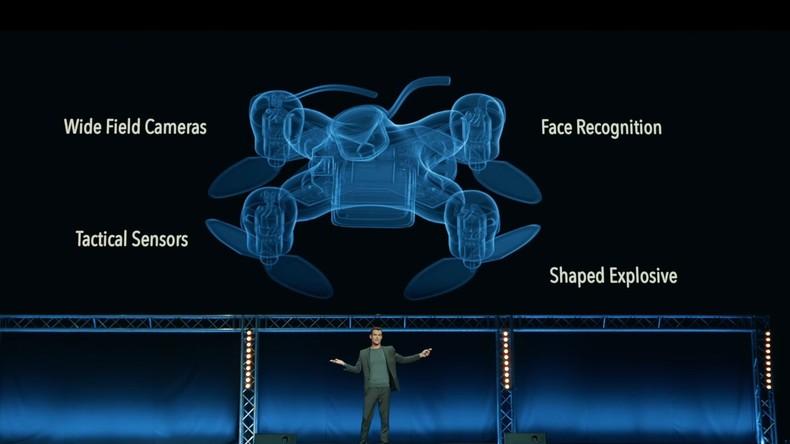 Kopfschuss per Kamikaze-Drohne: Eine beängstigende Zukunftsvision