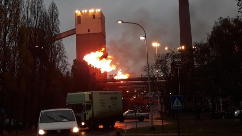 Explosion in Metallwerk im belgischen Gent – mindestens ein Mensch tot, mehrere verletzt