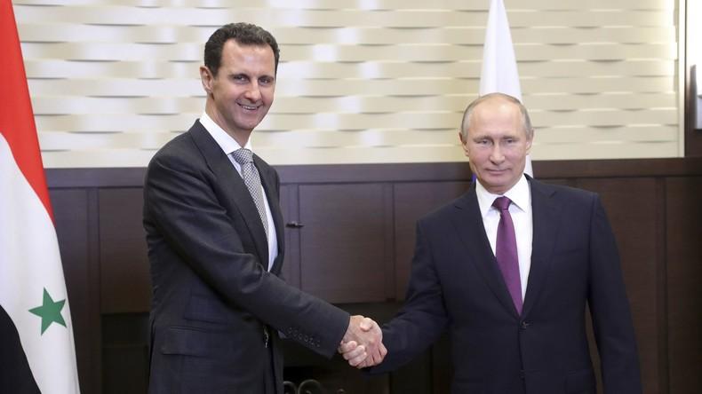 """Wladimir Putin: """"Militäroperation in Syrien nähert sich ihrem Ende"""""""