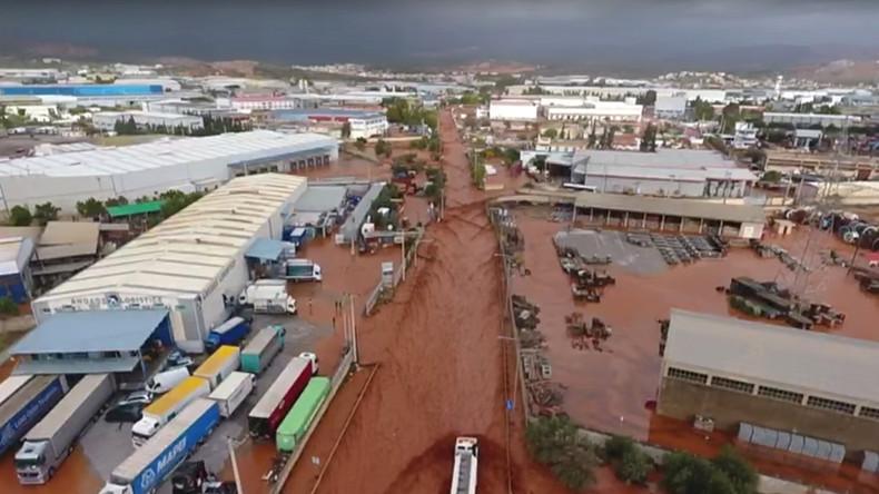 Überschwemmungen in Griechenland – Zahl der Toten steigt auf 21