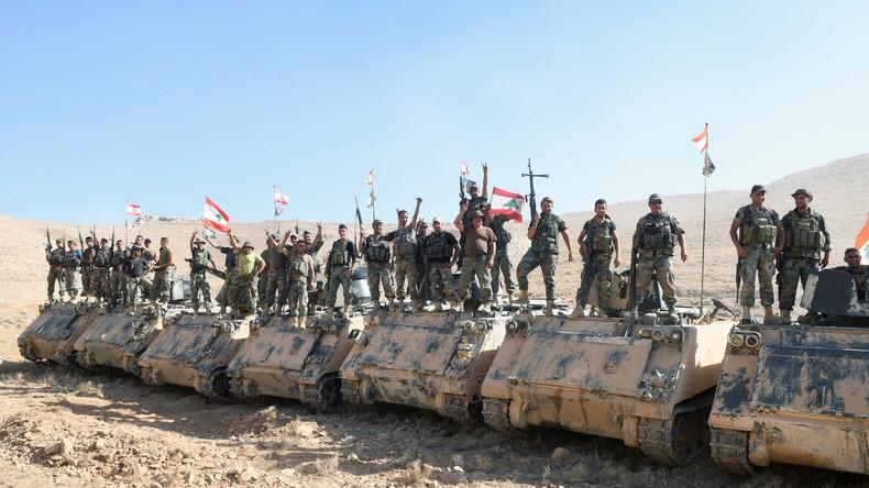 """Droht der nächste Krieg? Libanon macht Armee gegen """"israelischen Feind"""" einsatzbereit"""