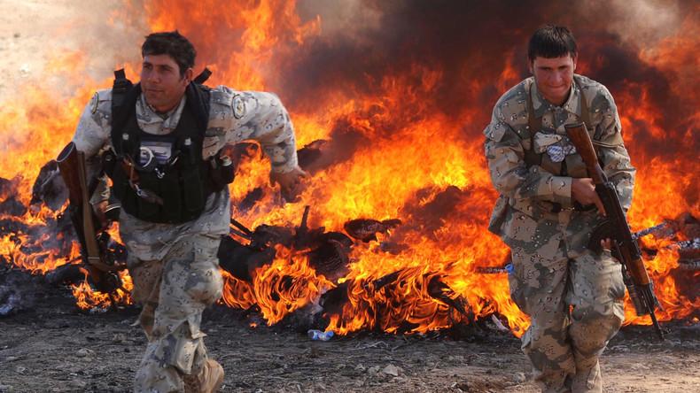 Afghanistan: USA verdreifachen unter Präsident Trump Bombenangriffe auf Taliban - Opium im Fokus