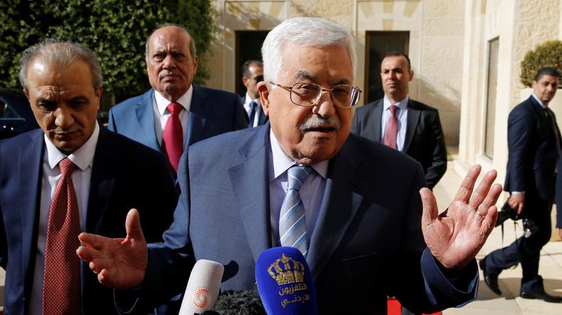 Nach Ankündigung der Schließung der PLO-Mission in Washington: Abbas stellt Gespräche mit USA ein