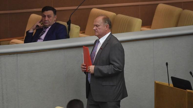 """Russisches Oberhaus beschließt Mediengesetz über """"Ausländische Agenten"""""""