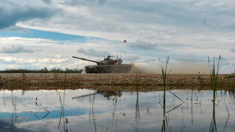Chinas neue Wunderwaffe: der wohl schnellste Amphibienpanzer der Welt