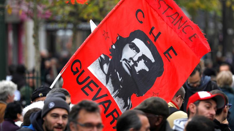 LIVE: Studentenproteste gegen Universitätsreformen in Paris