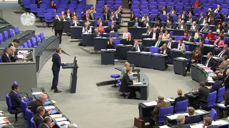 """Live:  Dritte Sitzung des Bundestages - """"Lage im Mittleren Osten und Einwanderungsgesetz"""""""