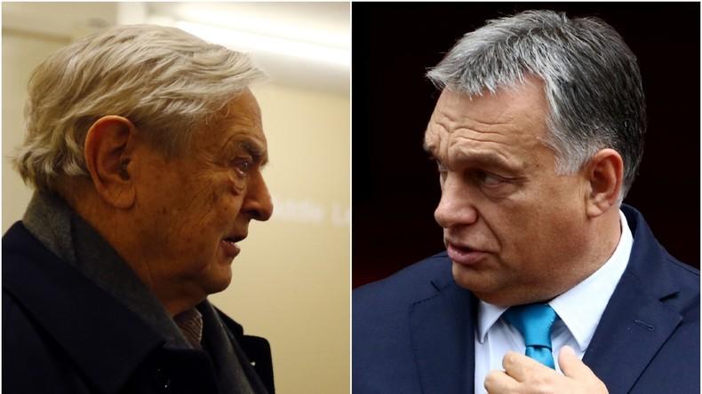 Ring frei zur nächsten Runde: George Soros gegen Viktor Orban [Video]
